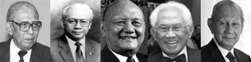 Tokoh-tokoh yang dianggap Mafia Barkeley di tahun 70-an. (Foto: ForumKeadilan.com)