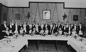 Pertemuan Freemason Belanda dan pribumi masa Hindia Belanda
