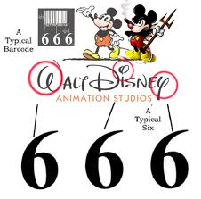 Walt-Disney-666-Logo-Bar-code