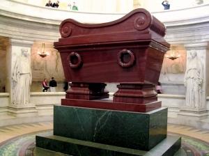 Kuburan Napoleon Bonaparte di Muséum national d'Histoire, Jardin des Plantes, Paris